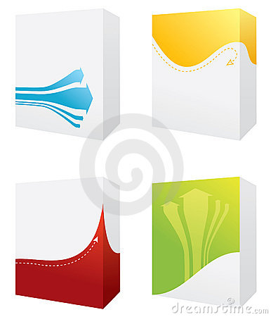 Free Four Colorful Boxes Royalty Free Stock Photos - 6700488