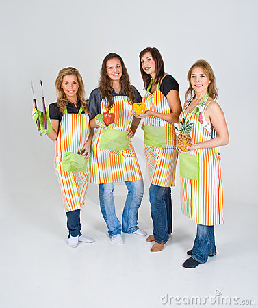 Four Cooks