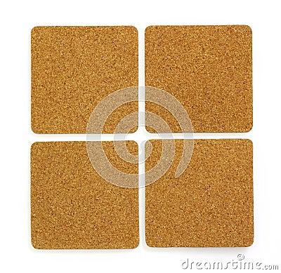 Four cork sheet