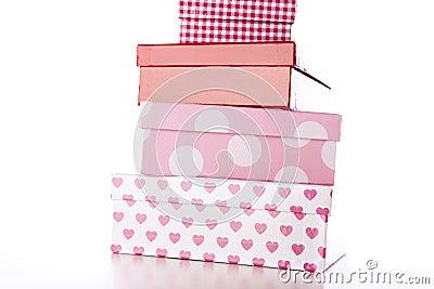 Four Decorative Boxes