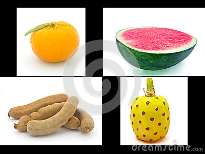 Four differance fruit