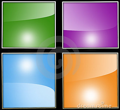 Four different colored backgrounds