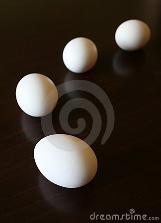 Free Four Eggs Stock Photography - 3648642