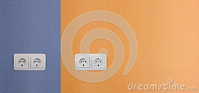 Four electrical outlets
