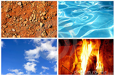 Four Elements Stock Photos - Image: 21883453