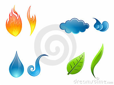 Four elements - vector