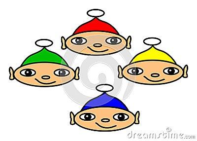 Four Elves Set