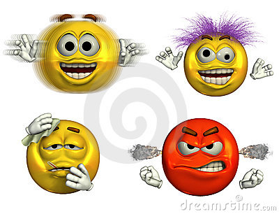 Four Emoticons- 6