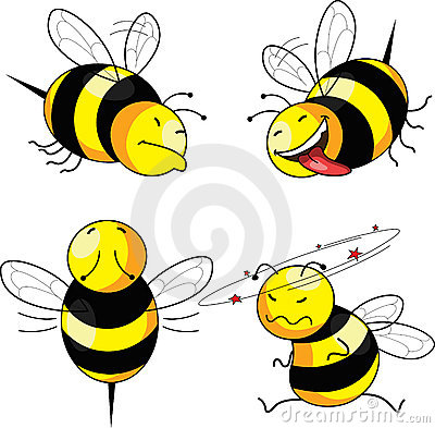 Four emotion bee