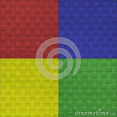 Four fabricate color major guide