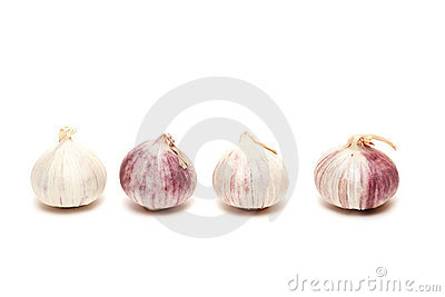 Four garlics