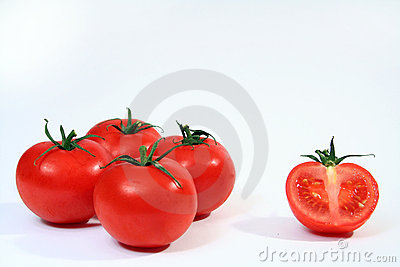 Four and half tomatoes