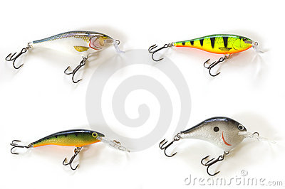 Four kinds of lures
