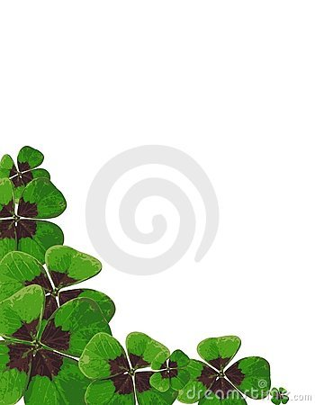 Free Four-leafed Clover 03 Royalty Free Stock Image - 3929566