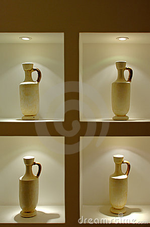 Free Four Mexican Vases Stock Photos - 353463