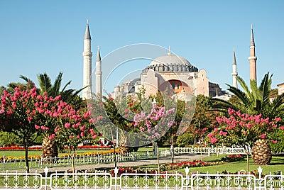 Four minaret mosque