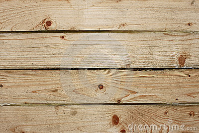 Four parallel wooden boards