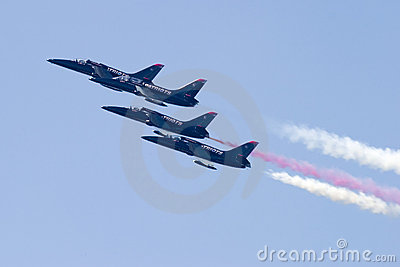 Four Patriot Jets