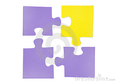 Four pieces of puzzle