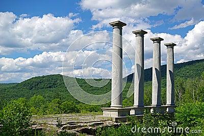 Four pillars.