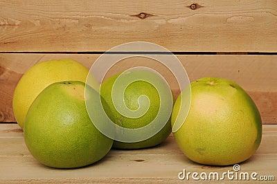 Four pomelo
