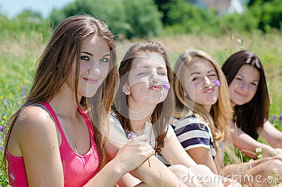 Royalty Free Teens Together Add 53