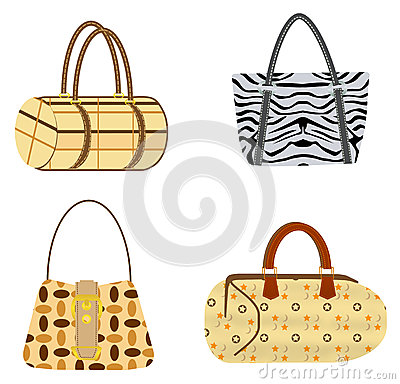 Four purses