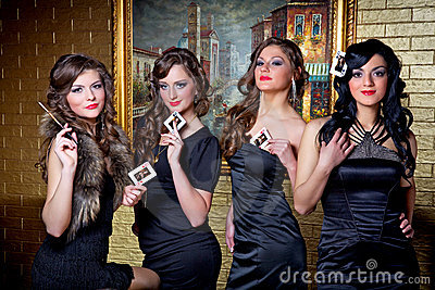 Four queens of poker