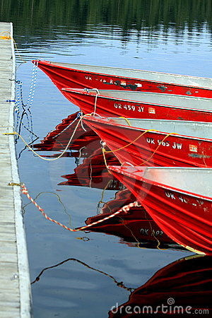 Four Red Boats