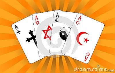 Four religious aces