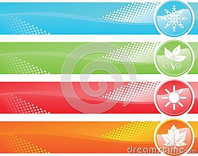 Four season banner
