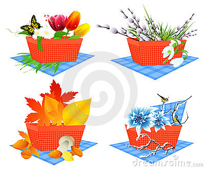 Four season baskets