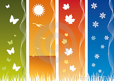 Bibidesign's - Four Seasonal Backgrounds