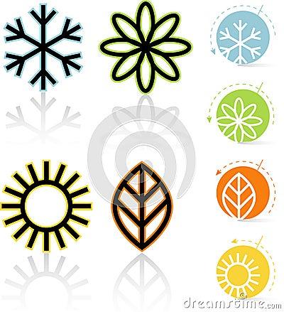 Four Seasons Icons