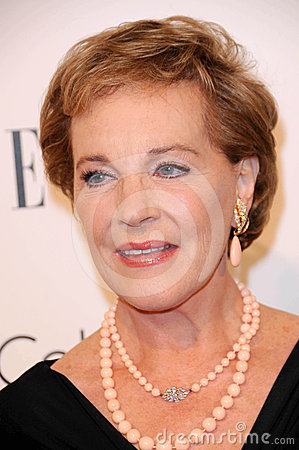 Four Seasons,Julie Andrews Editorial Stock Image