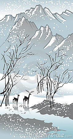 Free Four Seasons: Winter Stock Images - 7913894