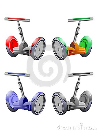 Four Segways