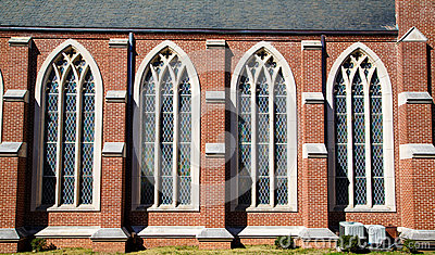 Four Stained Glass Windows