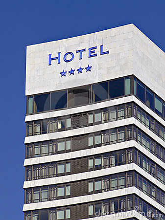 Four stars hotel building