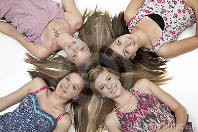 Four Teen Girls
