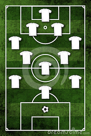 Four-three-three formation