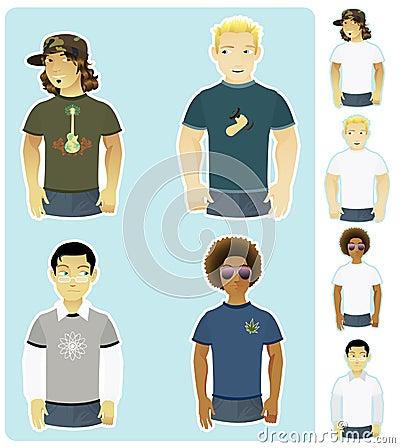 Four Types of Guys