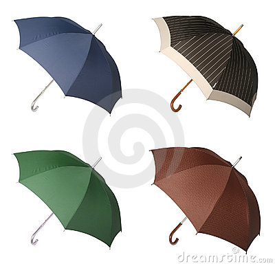 Four Umbrellas