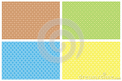 Four vector backgrounds