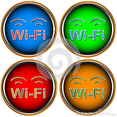 Four Wi-Fi icons