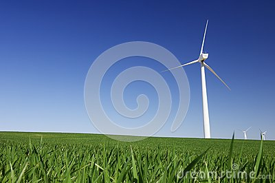 Four windmills