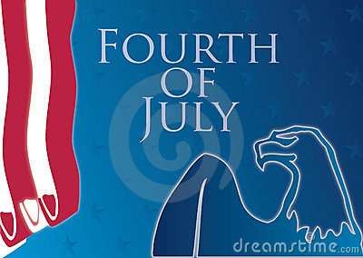 Fourth of july composition