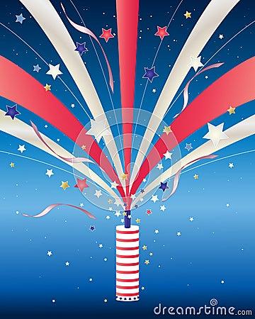 Fourth of july firework