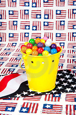 Fourth of July Gumballs