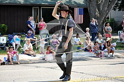 Fourth of July Parade Editorial Stock Image